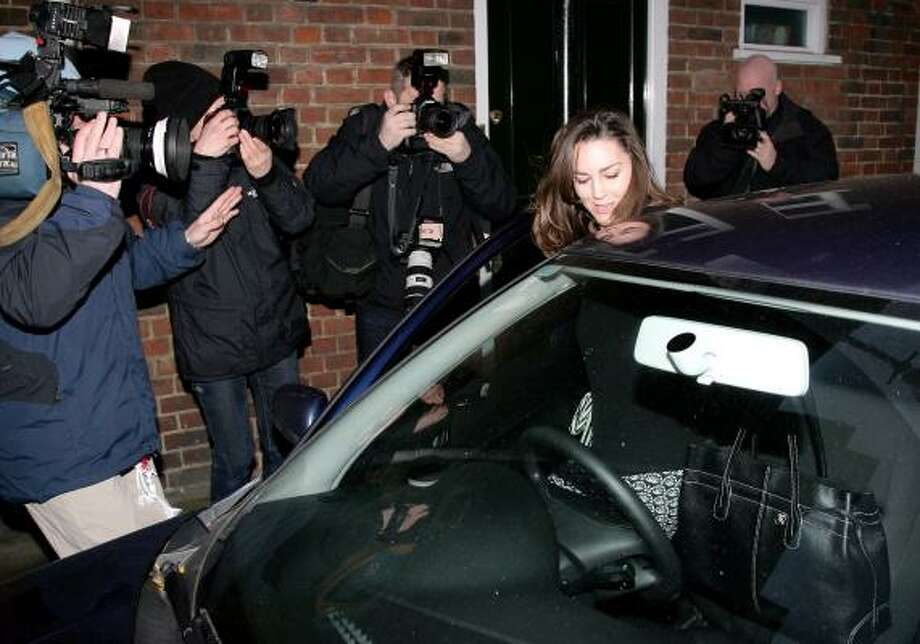 Kate Middleton leaves her Chelsea flat on her 25th birthday, Jan. 9, in London. Photo: Gareth Cattermole, Getty Images