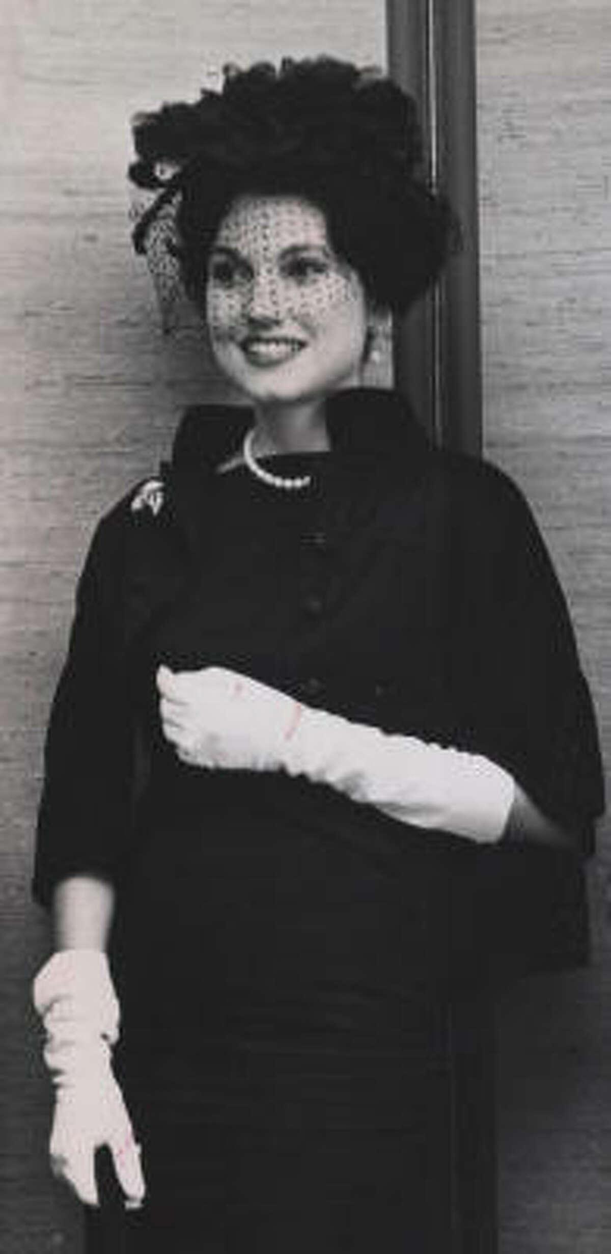 1961: Joanne Herring in August 1961.