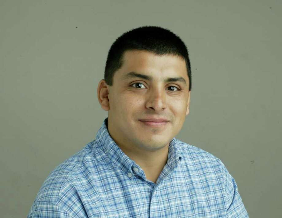 Employee mug of Jose de Jesus Ortiz.  Shot in the studio. Photo: Buster Dean, Staff / Houston Chronicle