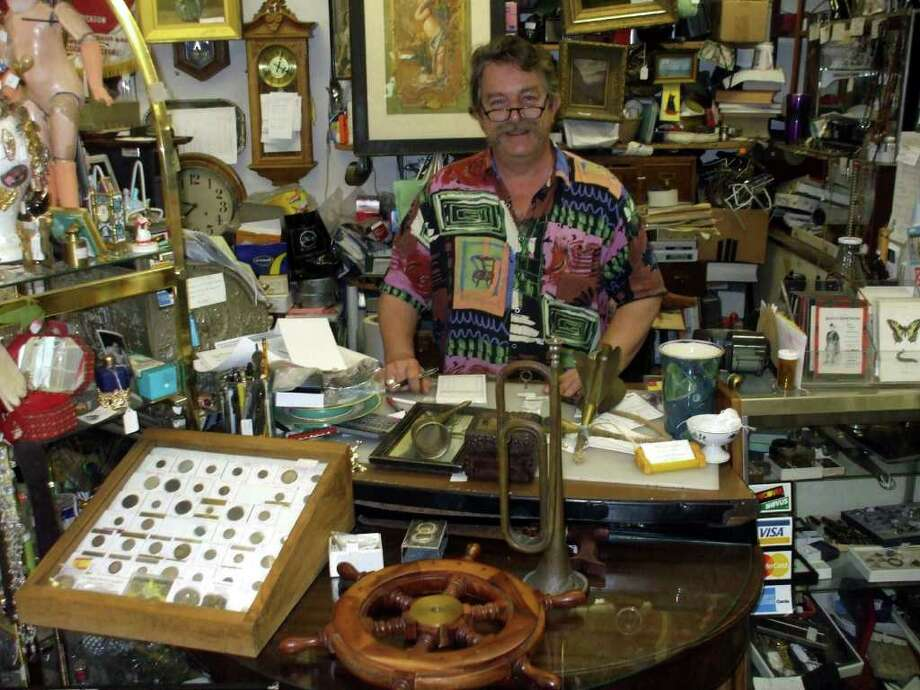 Carl Georgi, of McGeorgiís Antiques and Consignments in Newtown, started with an empty shop. After 20 years in business, it's safe to say he now has something for everyone. Photo: Contributed Photo