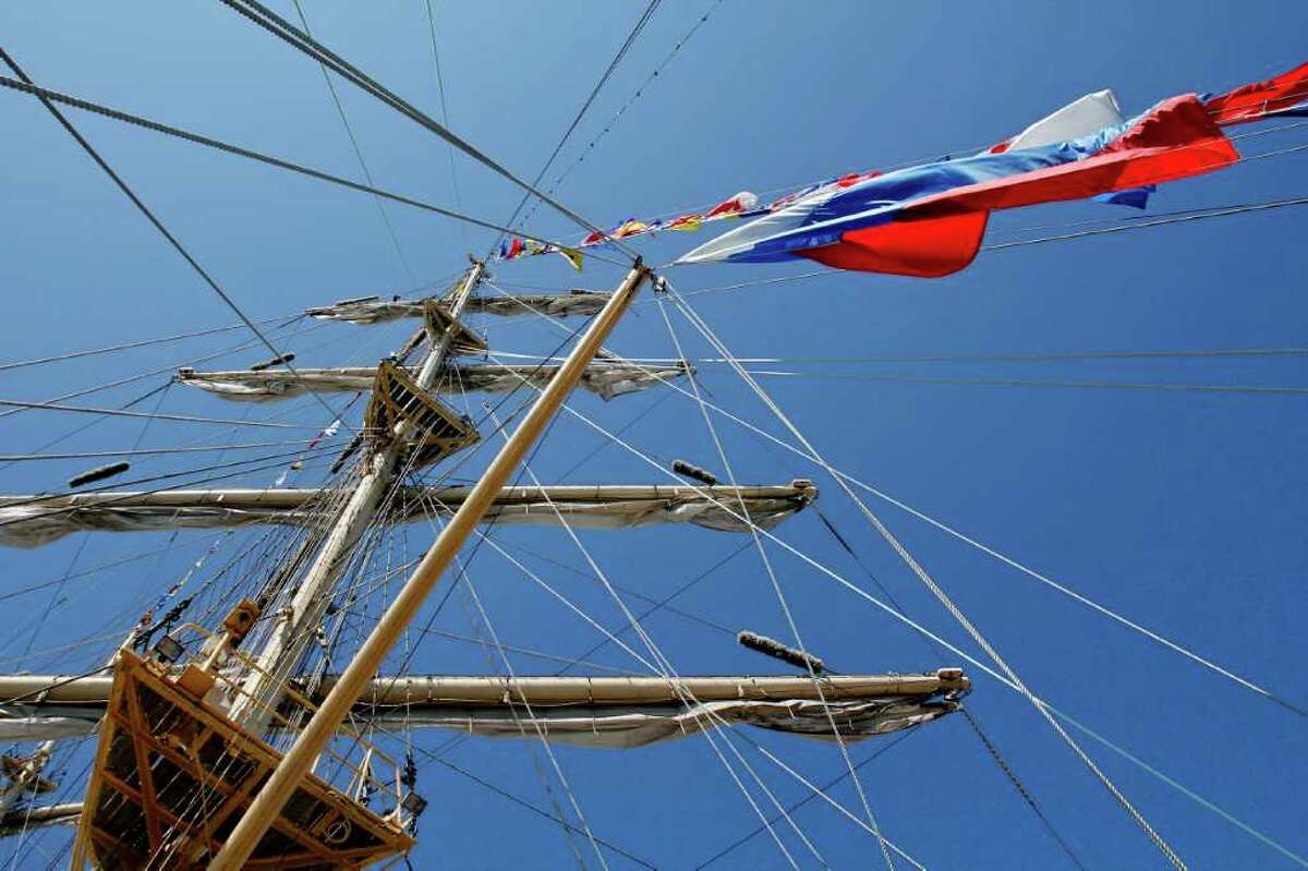 A mast of the Pallada.