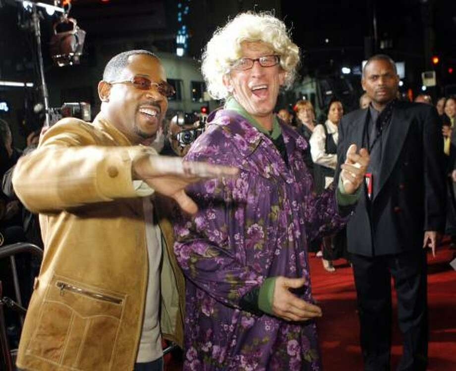 Martin Lawrence, left, and Andy Dick Photo: LUCAS JACKSON, REUTERS