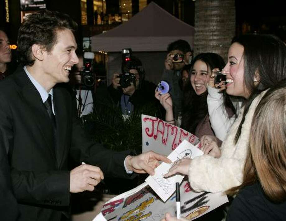 James Franco Photo: FRED PROUSER, REUTERS