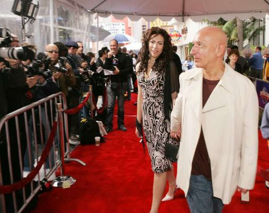 Ben Kingsley and Daniella Lavander Photo: Kevin Winter, Getty Images
