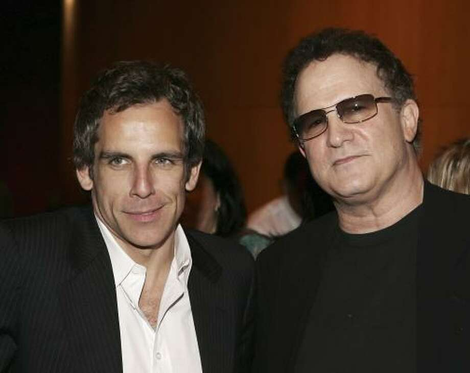 Ben Stiller, left, and Albert Brooks Photo: Vince Bucci, Getty Images