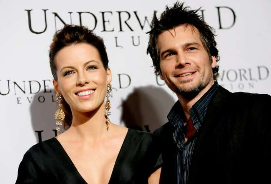 Kate Beckinsale and Len Wiseman Photo: MARIO ANZUONI, REUTERS