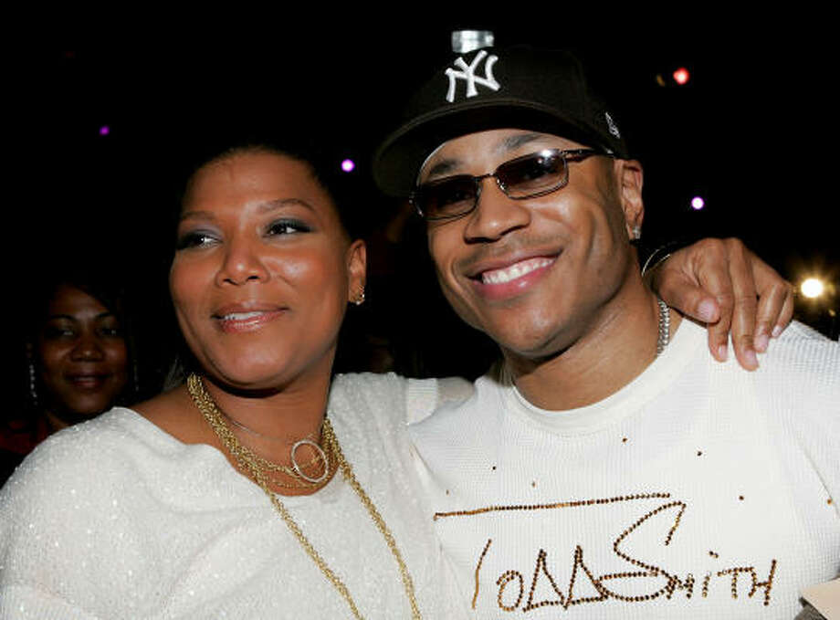 Queen Latifah and LL Cool J Photo: Paul Hawthorne, Getty Images