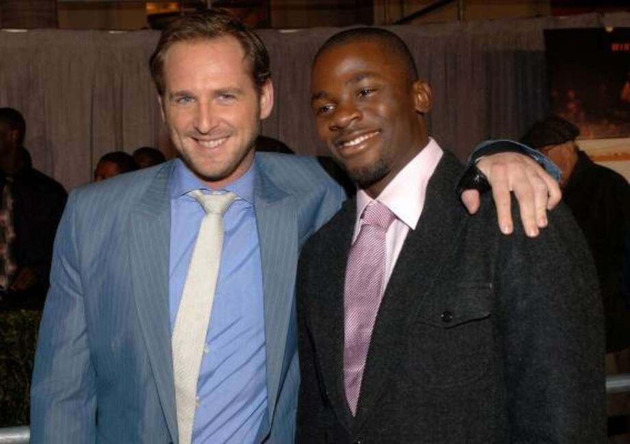 Josh Lucas, left, and Derek Luke Photo: PHIL McCARTEN, REUTERS
