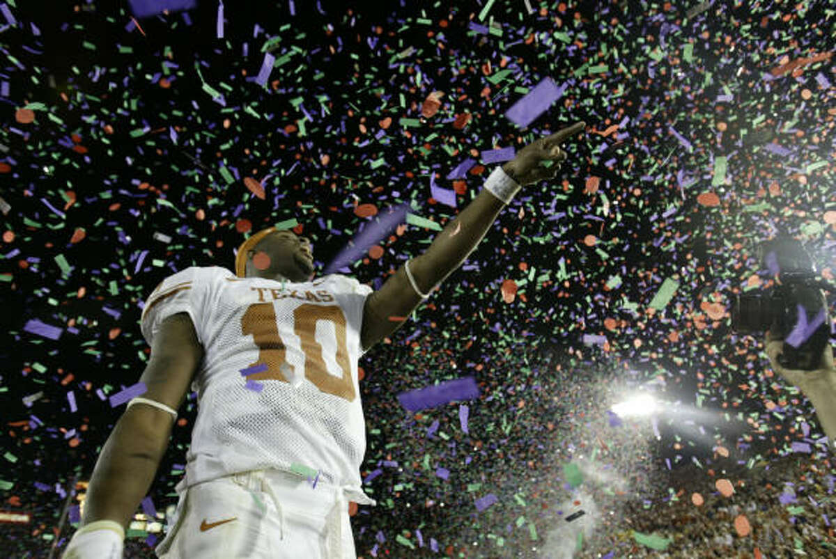 There's a new three-hour documentary focusing on Vince Young and the Texas Longhorns' run to the 2005 national championship.