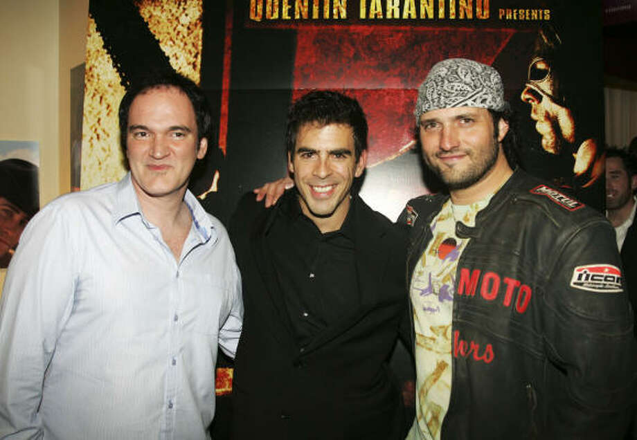 Quentin Tarantino, from left, Eli Roth and Robert Rodriguez Photo: Michael Buckner, Getty Images