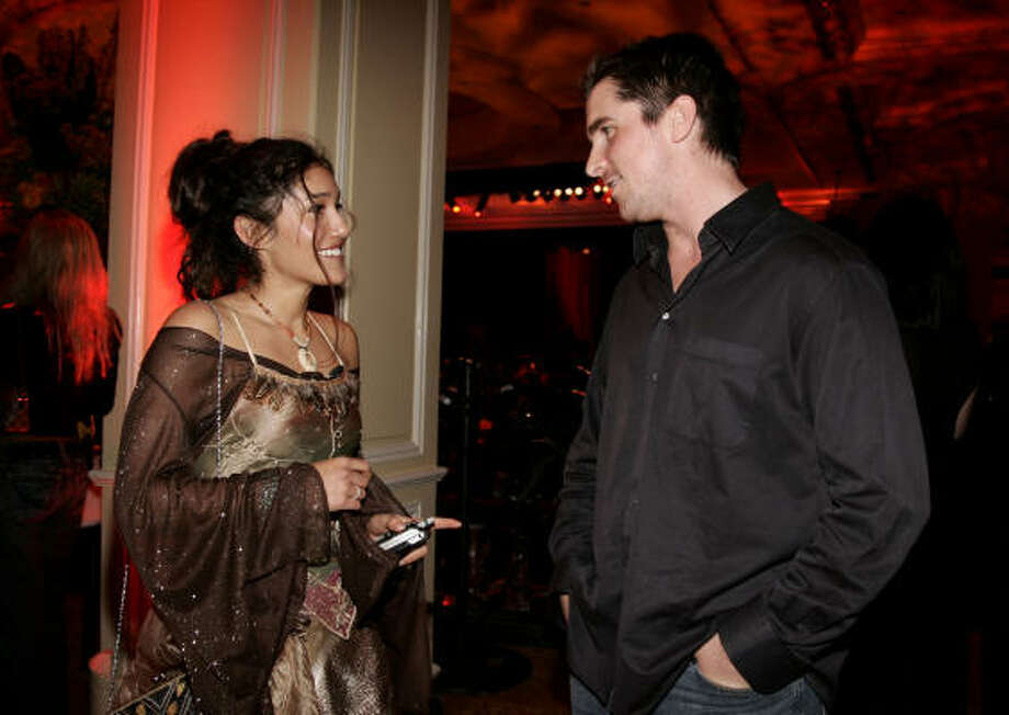 Christian Bale and Q'Orianka Kilcher Photo: Vince Bucci, Getty Images