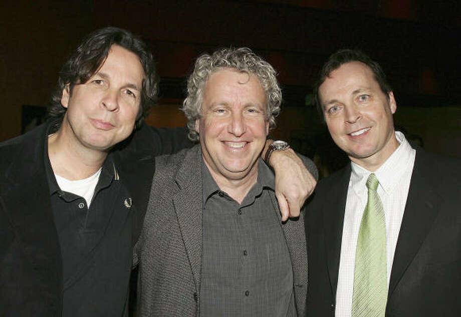 Bobby Farrelly, from left, Barry W. Blaustein and Peter Farrelly Photo: Frazer Harrison, Getty Images