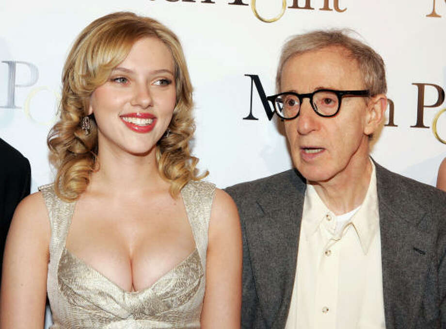 Scarlett Johansson  and Woody Allen Photo: Kevin Winter, Getty Images