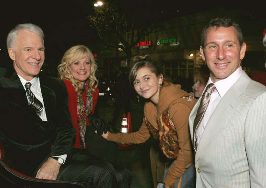 Steve Martin, from left, Bonnie Hunt, Alyson Stoner and Adam Shankman Photo: ALBERTO RODRIGUEZ, Associated Press