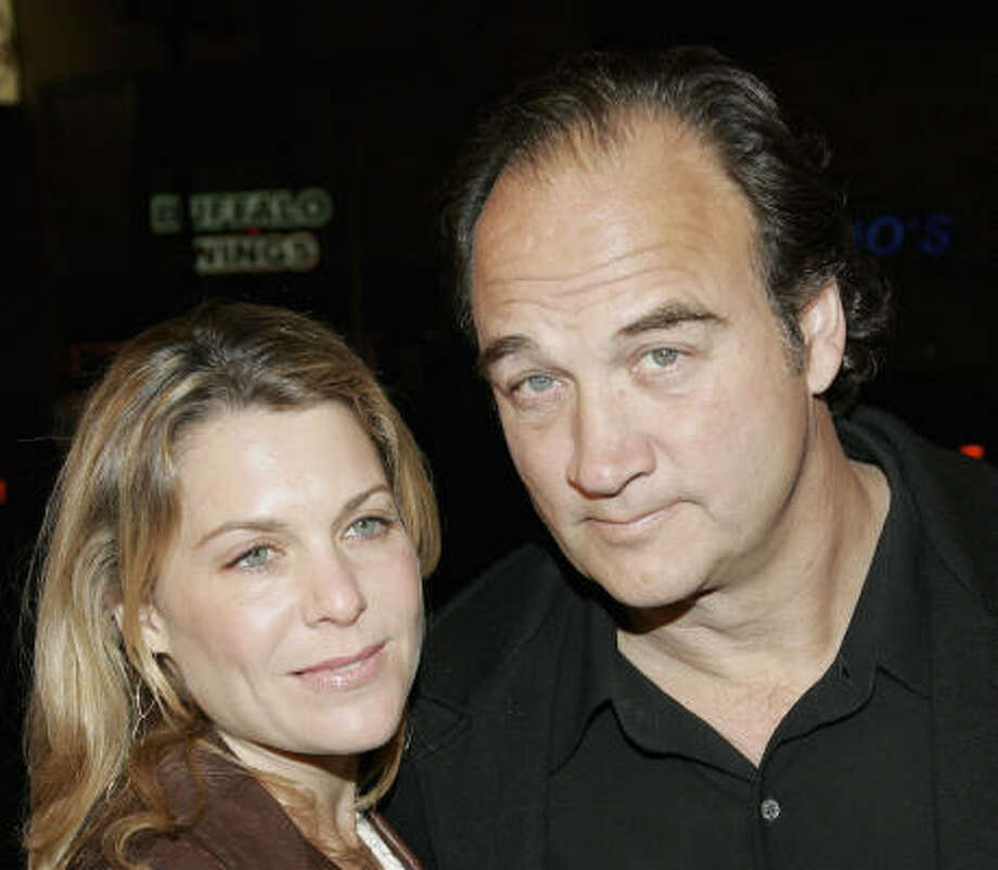 James and Jennifer Belushi Photo: David Livingston, Getty Images