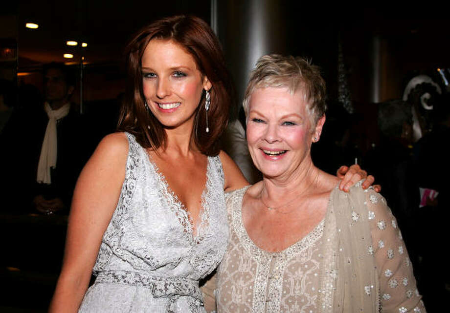 Kelly Reilly, left, and Judi Dench Photo: Mark Mainz, Getty Images