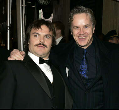 Jack Black, left, and Tim Robbins Photo: Carlo Allegri, Getty Images