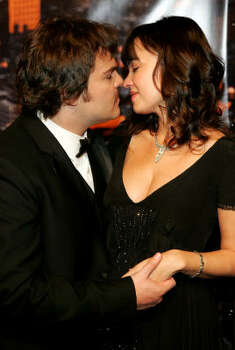 Jack Black and girlfriend Tanya Haden Photo: Paul Hawthorne, Getty Images
