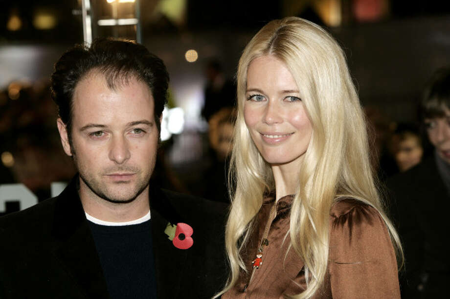 Claudia Schiffer and her husband, director Matthew Vaughn Photo: Dave Hogan, Getty Images