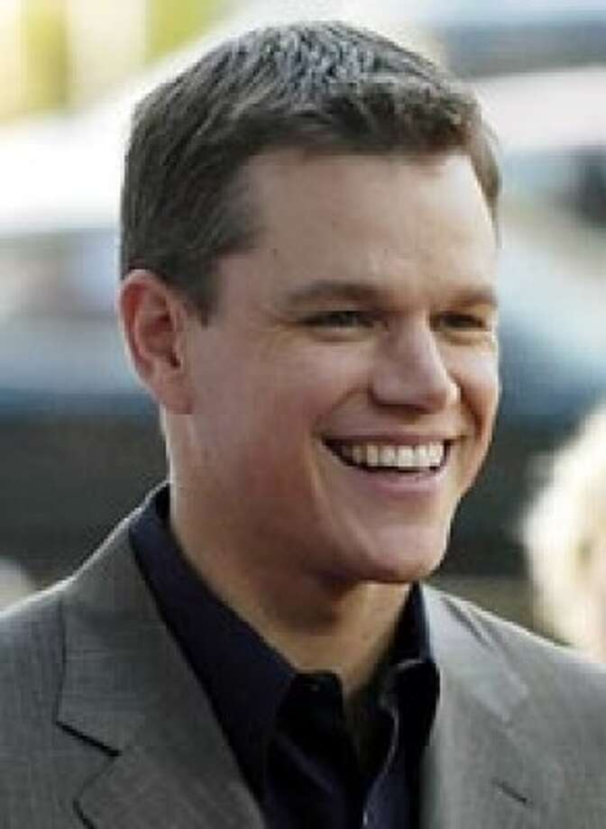 Matt Damon Photo: Associated Press