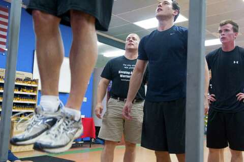 At Local Gym, SEAL Candidates Prepare For Long Journey Ahead