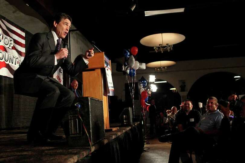 Metro - Governor Rick Perry emphasizes his passion about his run for President of the United States