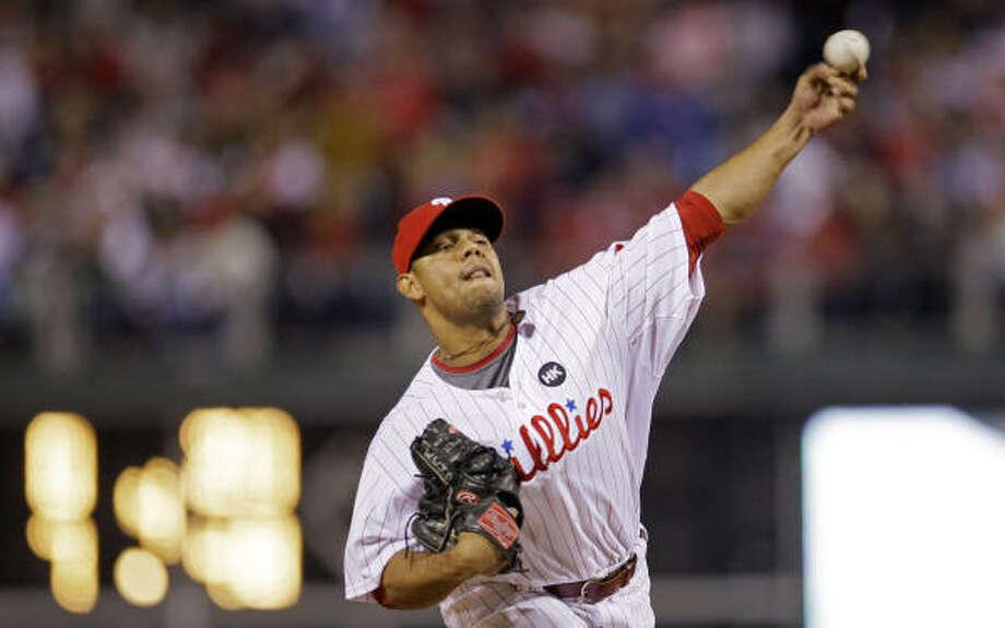 Sergio Escalona will compete for a spot in the Astros bullpen. Photo: Matt Slocum, AP