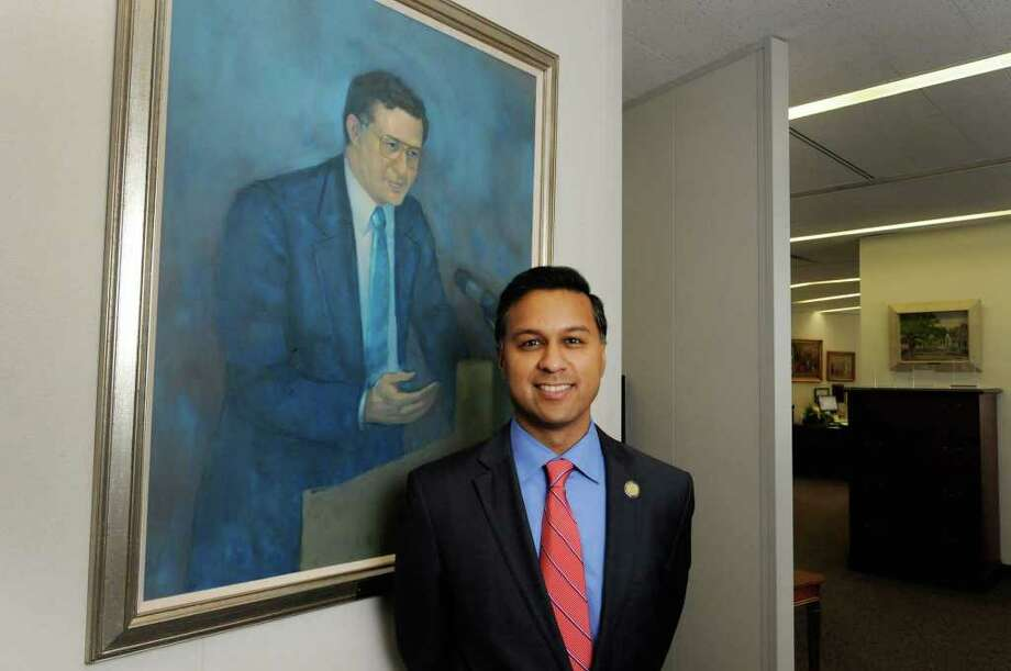 NYS Health Department Commissioner  Dr. Nirav Shah in Albany, NY Wednesday Aug, 3, 2011.( Michael P. Farrell/Times Union) Photo: Michael P. Farrell