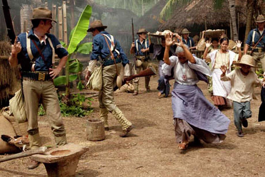 """A scene from """"Amigo."""" Photo: Mary Cybulski / PINOY PICTURES, INC"""