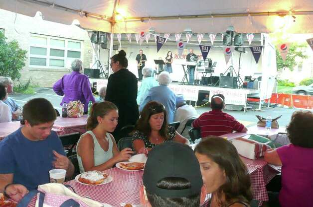 2011 Feast of St. Roch Church Greenwich August 3-6 Photo: Anne W. Semmes