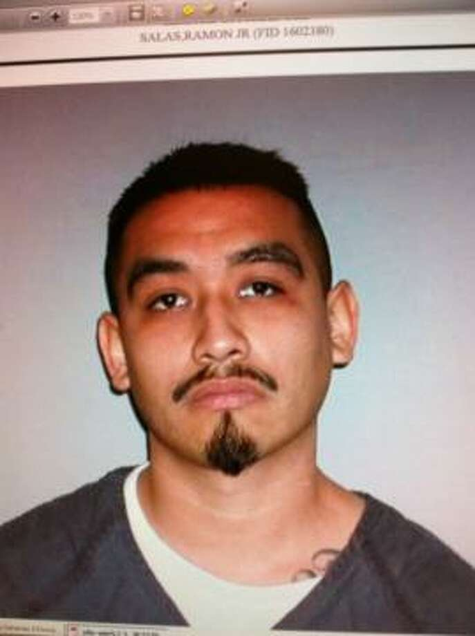 "Authorities are looking for Ramon Salas, Jr., 29, ""armed and dangerous"" and last seen Monday night at an apartment complex in the Northwest side. Photo: Courtesy Photo"