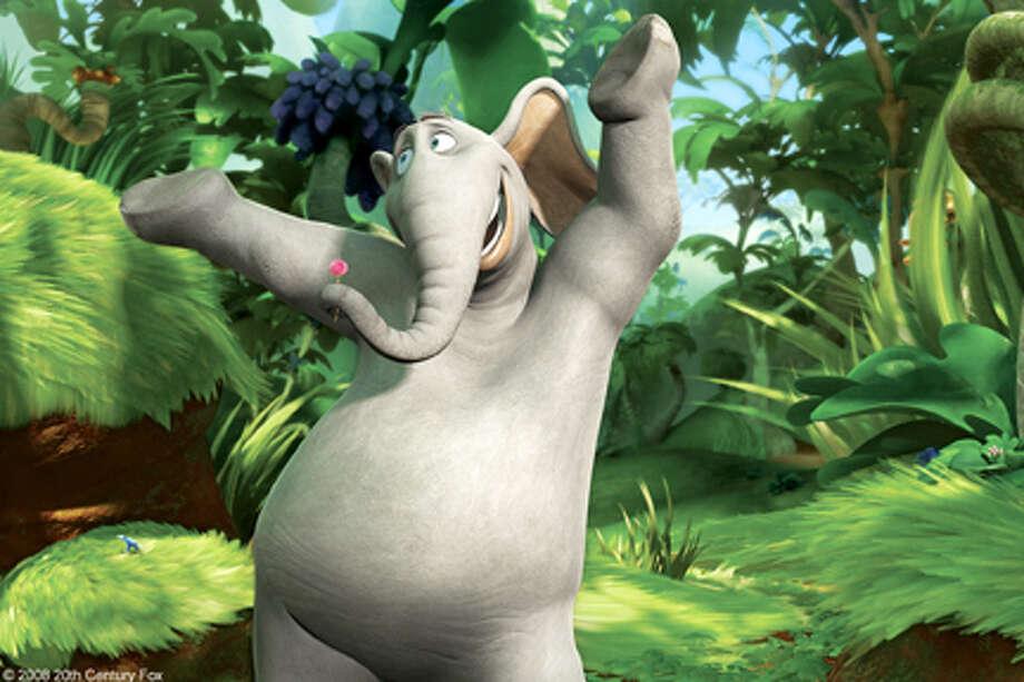 "A scene from the film ""Horton Hears a Who."" Photo: Photo Credit: Blue Sky Studios / Dr. Seuss' Horton HearsÊA Who! TM & © 2008 Twentieth Century Fox Film Corporation.Ê Dr. Seuss, Horton Hears A Who! and Dr. Seuss"