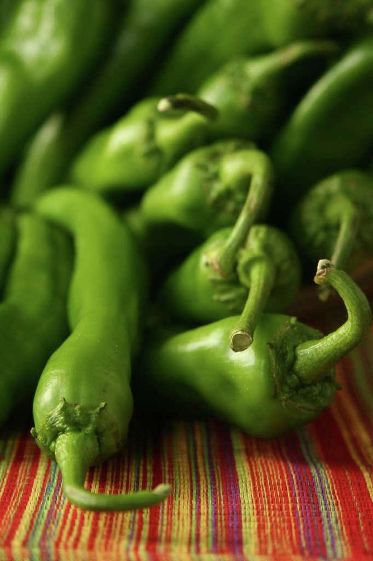 Hatch Chilies from New Mexico.