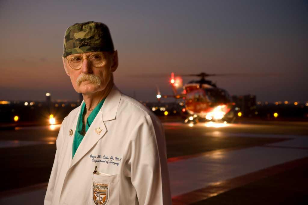 James Red Duke Iconic Surgeon Who Started Life Flight