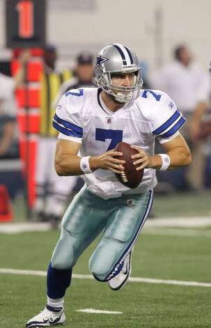 Dallas Cowboys quarterback Stephen McGee (7) during a preseason NFL football game Thursday, Aug. 11, 2011, in Arlington. Photo: L.M. Otero/Associated Press