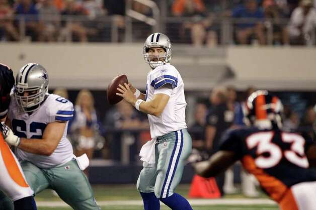 Dallas Cowboys quarterback Stephen McGee (7) during a preseason NFL football game against the Denver Broncos Thursday, Aug. 11, 2011, in Arlington. The Cowboys won 24-23. Photo: Tony Gutierrez, Tony Gutierrez/Associated Press / AP