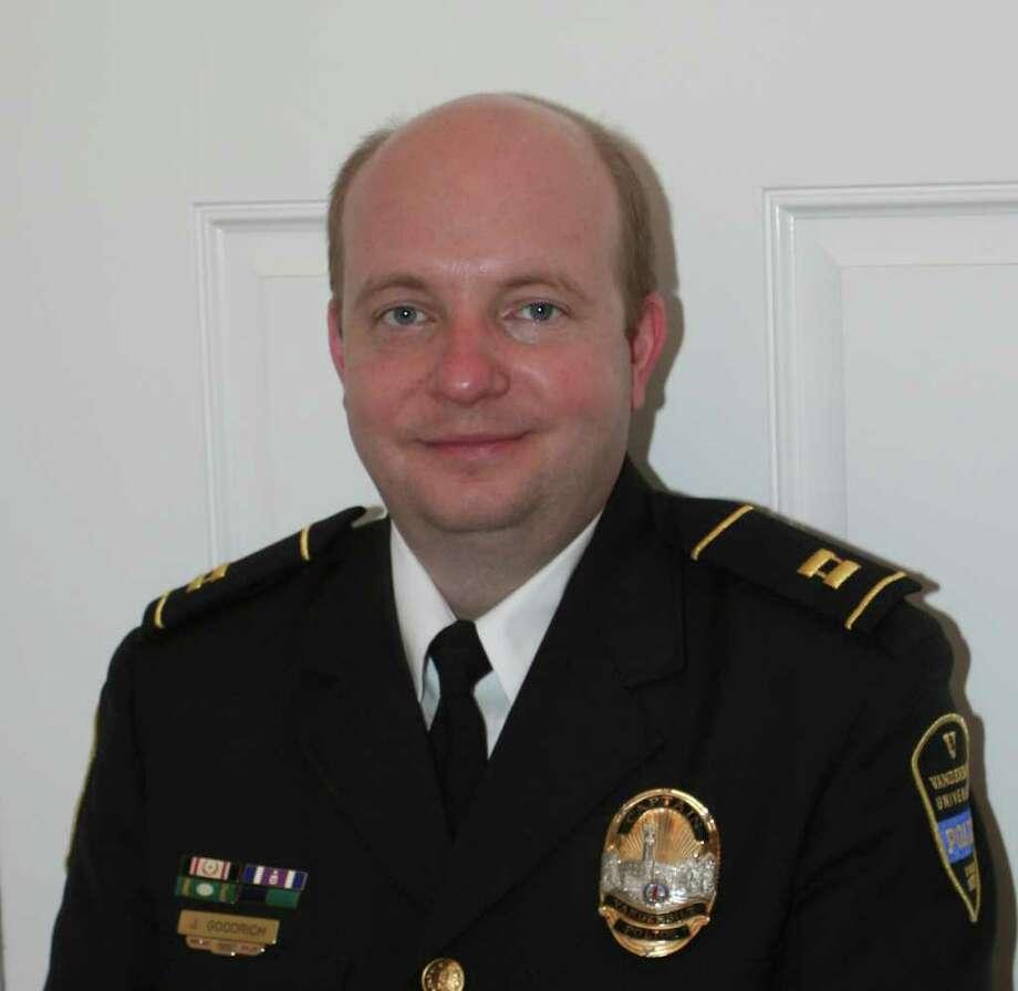 Jason Goodrich will start as police chief at Lamar University Sept. 13. Photo: Lamar University