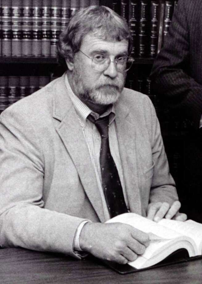 """Attorney C. Haden """"Sonny""""Cribbs in his office in 1986. Enterprise file photo Photo: File"""