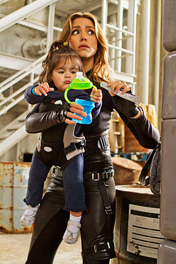 "Jessica Alba in the new ""Spy Kids."" Photo: Courtesy Photo"