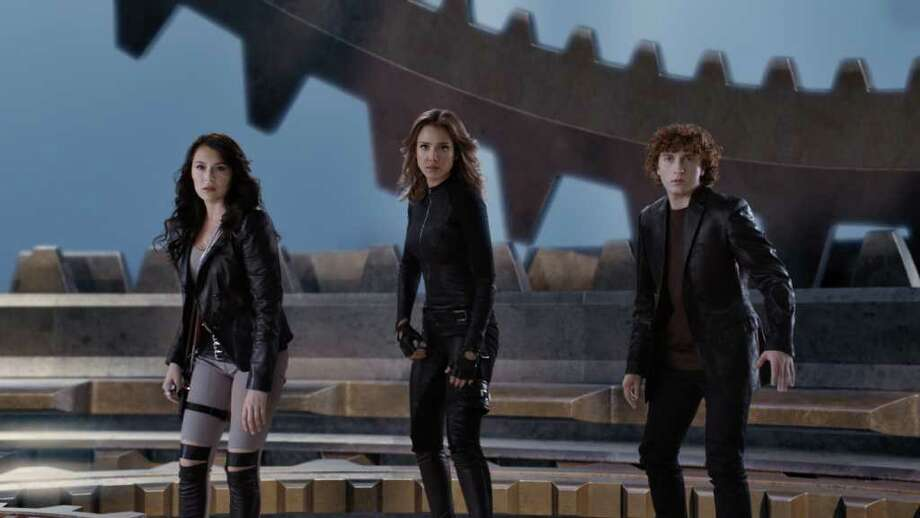 "Alexa Vega, Jessica Alba, and Daryl Sabara ""Spy Kids."" Photo: Courtesy Photo"