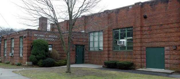 Briggs High School  at 350 Main Avenue. Photo: Phil Noel, NC / Norwalk Citizen