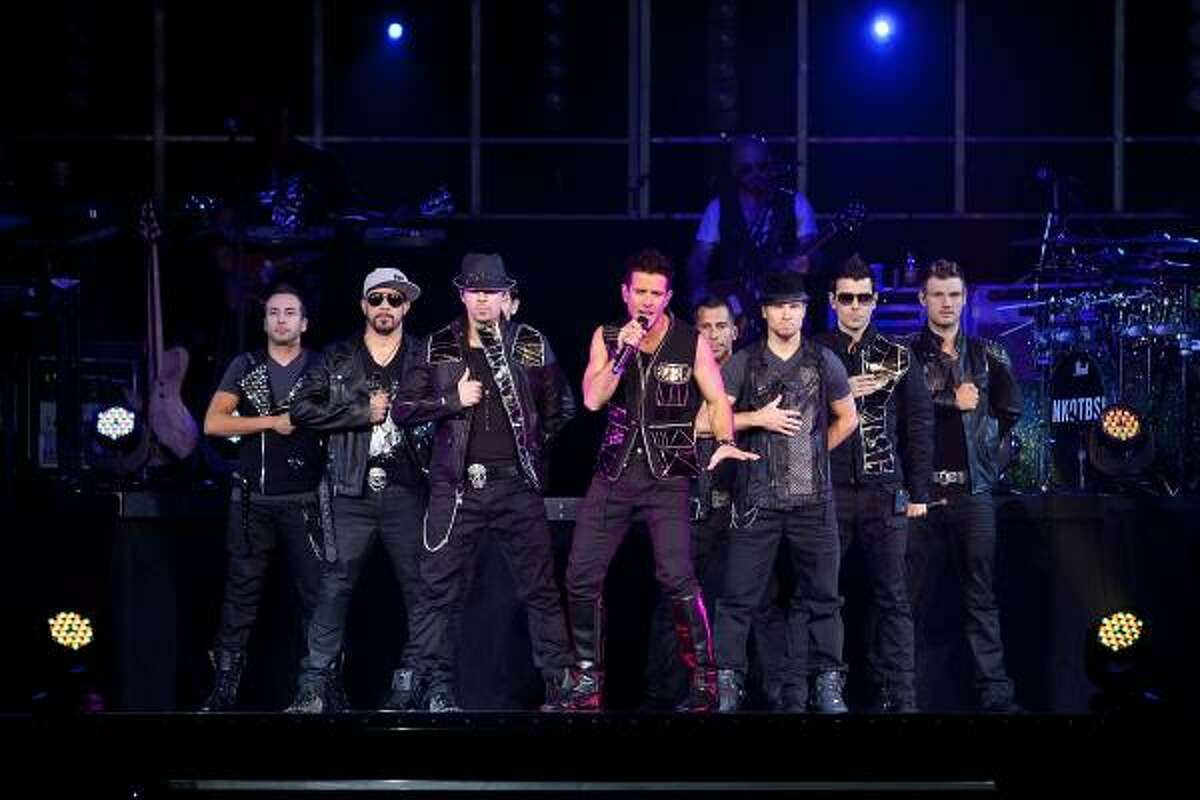 New Kids on the Block and Backstreet Boys bring their show to Houston on Saturday.
