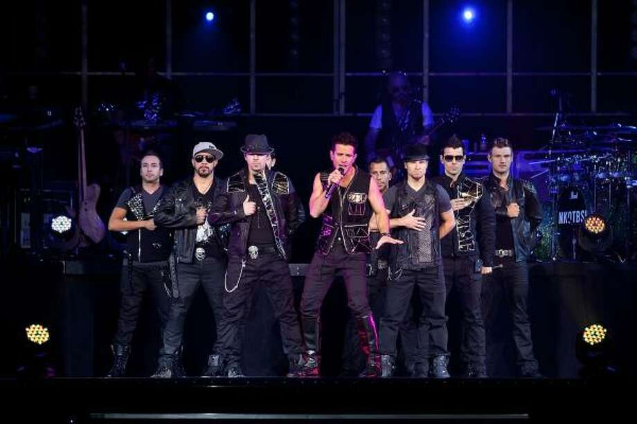 New Kids on the Block and Backstreet Boys bring their show to Houston on Saturday. Photo: David Surowiecki, Getty Images