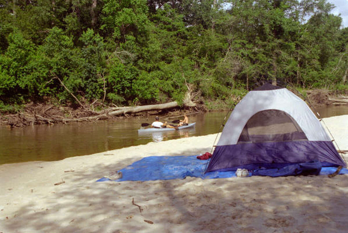 Village Creek State Park |Lumberton, Texas Sitting along one of the few free-flowing creeks in Texas is Village Creek State Park. Whether you're in the mood to camp on sandbars or just enjoy some peace and quiet, this park is perfect for relaxing, paddling and fishing.