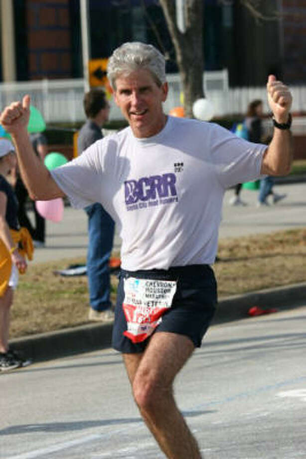 Mark Fraser enjoyed 5K runs and was competitive for his age group. Photo: For The Chronicle