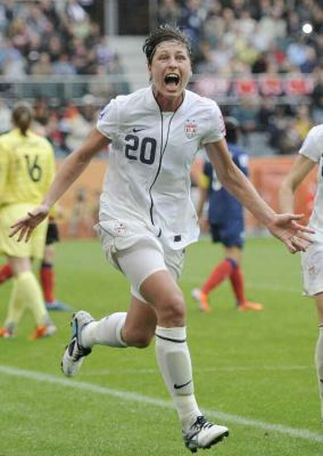U.S. striker Abby Wambach will again be expected to play a big role with a title on the line against Japan. Photo: Martin Meissner, Associated Press