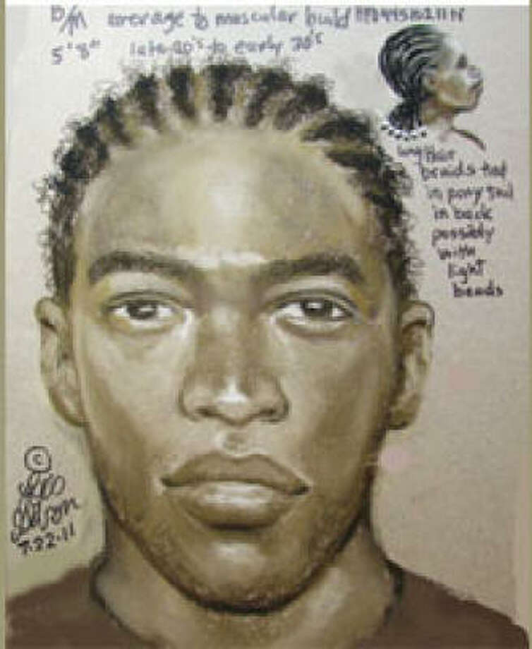 Houston police are asking for the public's assistance in locating a man wanted in the sexual assault and shooting of a woman last Thursday. Photo: HPD