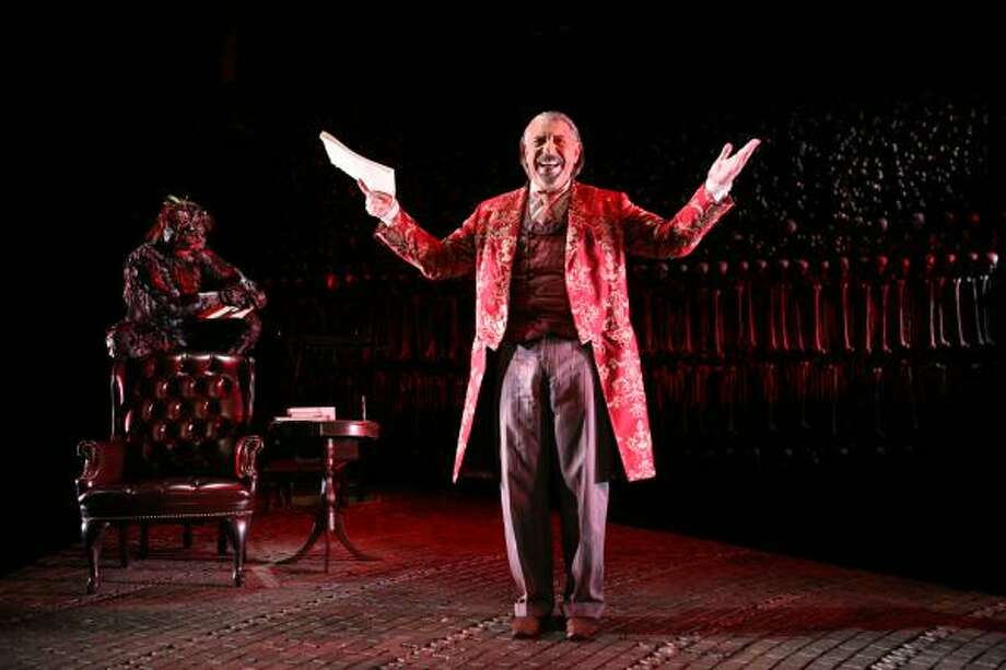 "Max McLean stars as  Screwtape in ""The Screwtape Letters."" Photo: Gerry Goodstein"