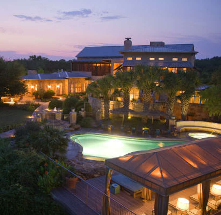 Lake Austin Spa Resort is a unique vacation experience. Photo: Lake Austin Spa Resort