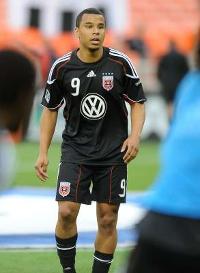 D.C. United forward Charlie Davies was fined for a dive June 18. Photo: Chuck Myers, McClatchy-Tribune News Service